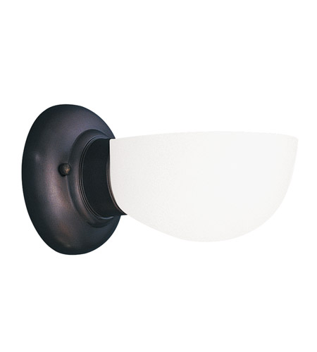 Hudson Valley 101-OB-811 Edison 1 Light 5 inch Old Bronze Bath And Vanity Wall Light in Opal Glass, 811 photo