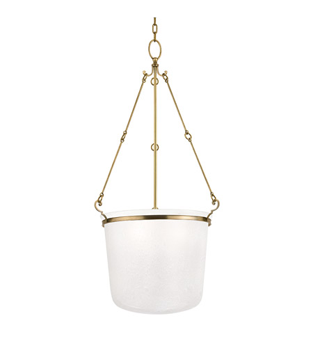 Hudson Valley Lighting Amenia 4 Light Chandelier in Aged Brass 1034-AGB photo