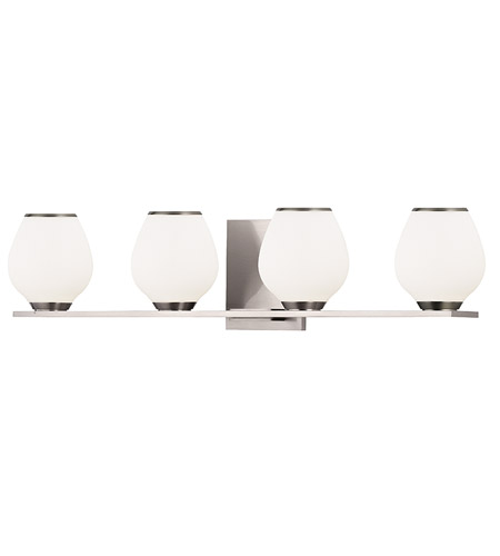 Hudson Valley Lighting Verona 4 Light Bath Vanity in Satin Nickel 1194-SN photo