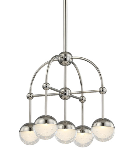 Polished Nickel Boca Chandeliers