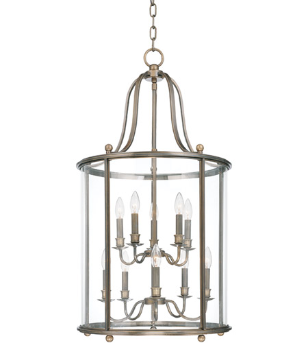 Hudson Valley 1320-DB Mansfield 10 Light 20 inch Distressed Bronze Pendant Ceiling Light photo