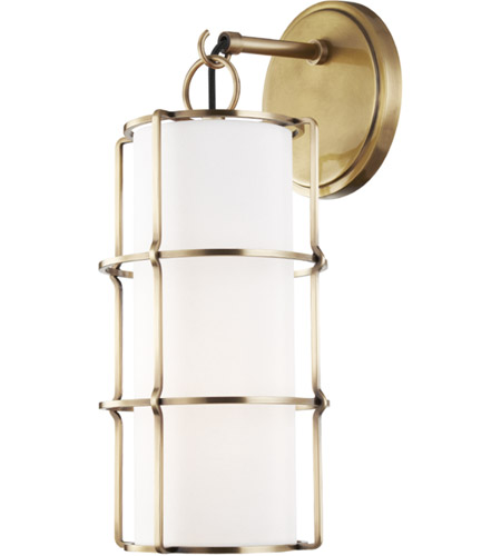 Hudson Valley 1500 AGB Sovereign LED 7 Inch Aged Brass Wall Sconce Wall  Light Photo