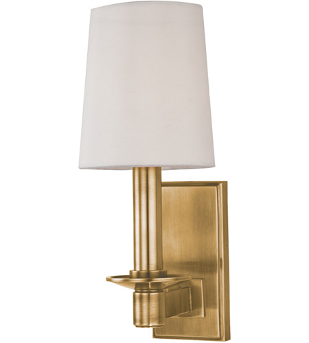 Hudson Valley 151 Agb Spencer 1 Light 4 Inch Aged Brass Wall Sconce Wall Light