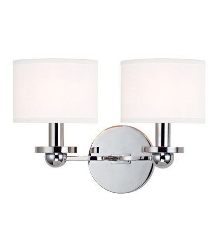 Hudson Valley Lighting Kirkwood 2 Light Wall Sconce in Polished Chrome 1512-PC-WS photo