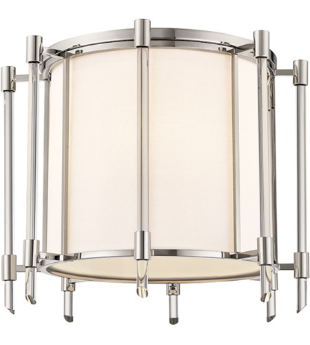 Hudson Valley 1521-PN Delancey 4 Light 15 inch Polished Nickel Semi Flush Ceiling Light photo
