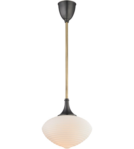 Knox 1 Light 12 inch Aged Old Bronze Pendant Ceiling Light