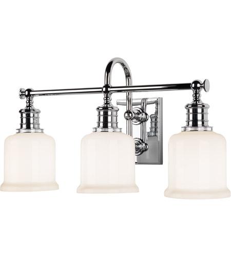 Hudson Valley Bath Vanity Lighting: Hudson Valley Lighting Keswick 3 Light Bath And Vanity In