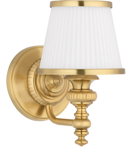 Hudson Valley 2001-FB Milton 1 Light 6 inch Flemish Brass Bath And Vanity Wall Light photo