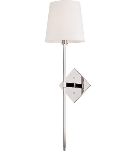 Hudson Valley Lighting Cortland 1 Light Wall Sconce in Polished Nickel 211-PN photo