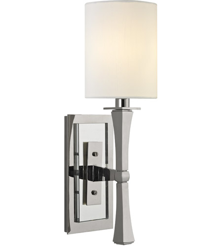 Hudson Valley Lighting York 1 Light Wall Sconce in Polished Nickel 2111-PN photo