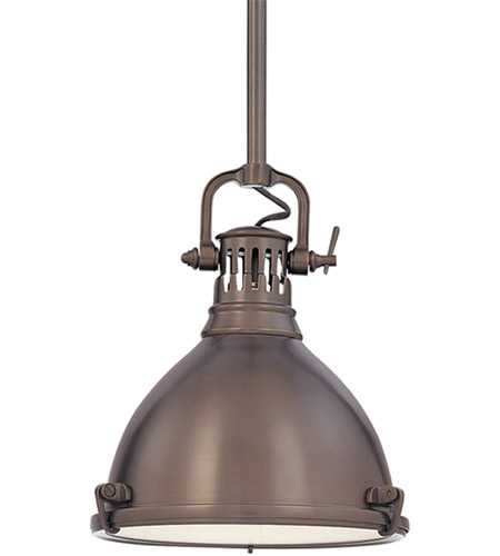 Hudson Valley Lighting Pelham 1 Light Pendant in Historic Bronze 2211-HB photo