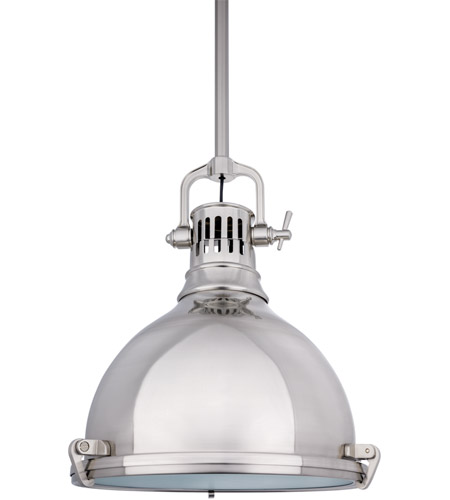 Hudson Valley Lighting Pelham 1 Light Pendant in Satin Nickel 2212-SN photo