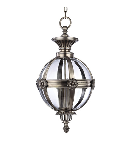 Hudson Valley Lighting Marietta Pendant in Aged Silver 2320-AS photo
