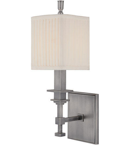 Hudson Valley Lighting Berwick 1 Light Wall Sconce in Antique Nickel 241-AN photo
