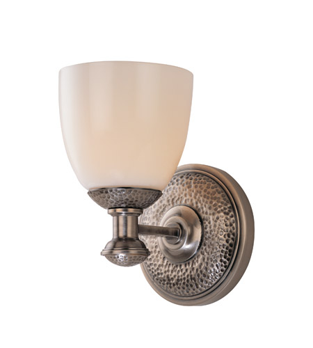 Hudson Valley Lighting Pound Ridge 1 Light Bath And Vanity in Historic Nickel 2551-HN photo