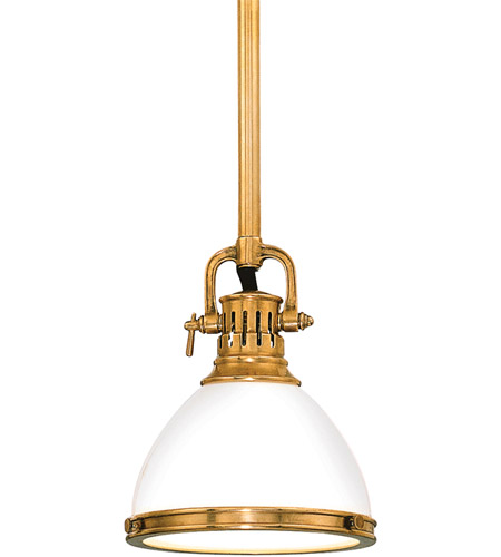 Hudson Valley 2621-AGB Randolph 1 Light 7 inch Aged Brass Pendant Ceiling Light photo