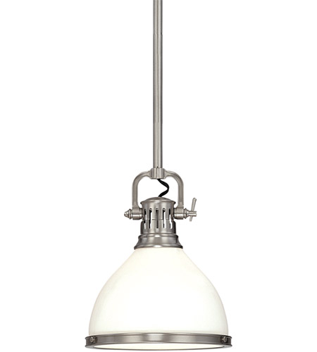 Hudson Valley Lighting Randolph 1 Light Pendant in Satin Nickel 2622-SN photo