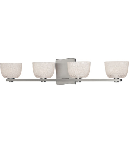 Hudson Valley Lighting Cove Neck 4 Light Bath And Vanity in Satin Nickel 2664-SN photo