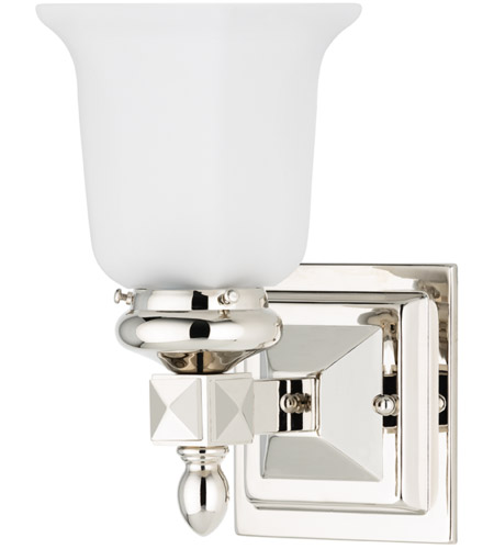 Hudson Valley Lighting Cumberland 1 Light Bath And Vanity in Polished Nickel 2821-PN photo