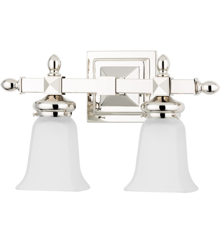 Hudson Valley 2822-PN Cumberland 2 Light 15 inch Polished Nickel Bath And Vanity Wall Light photo
