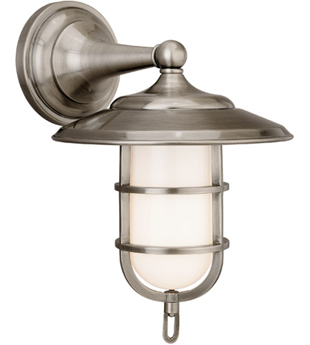 Hudson Valley 2901-AN Rockford 1 Light 9 inch Antique Nickel Bath And Vanity Wall Light photo