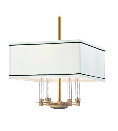Hudson Valley Lighting Collins 4 Light Chandelier in Aged Brass 2914-AGB photo
