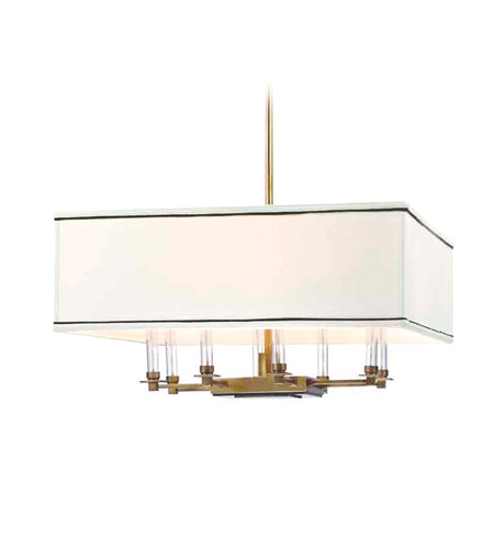 Hudson Valley Lighting Collins Chandelier in Aged Brass 2924-AGB photo