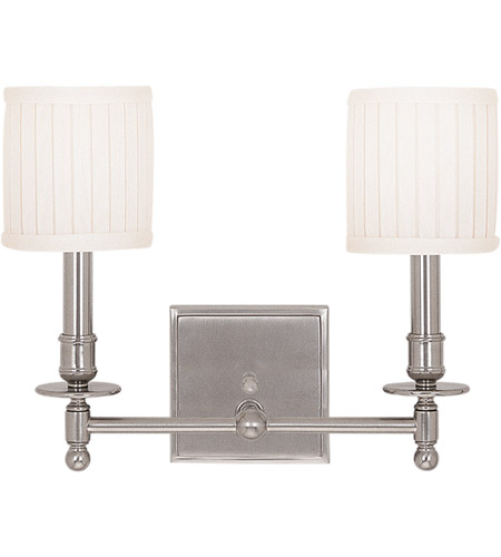 Hudson Valley 302-SN Palmer 2 Light 14 inch Satin Nickel Wall Sconce Wall Light photo