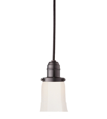 Hudson Valley 3101-OB-119 Vintage 1 Light 4 inch Old Bronze Pendant Ceiling Light in Opal Glass, 119 photo