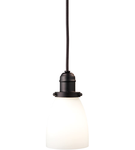 Hudson Valley 3101-OB-348M Vintage 1 Light 4 inch Old Bronze Pendant Ceiling Light in Opal Glass, 348M photo
