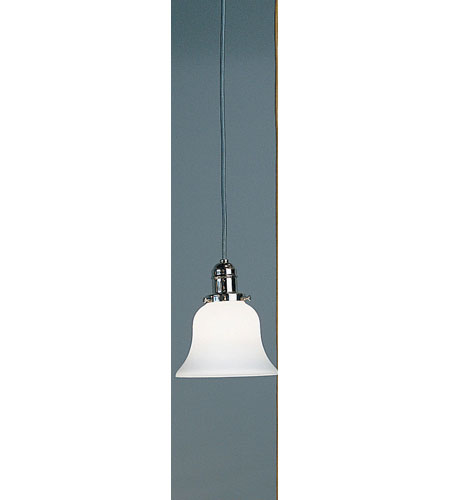 Hudson Valley 3102-PN-341 Vintage 1 Light 6 inch Polished Nickel Pendant Ceiling Light in Opal Glass, 341 photo