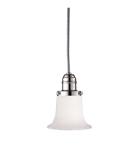 Hudson Valley Lighting Vintage 1 Light Pendant in Polished Nickel 3102-PN-7200 photo