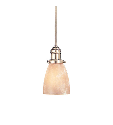 Hudson Valley Lighting Vintage 1 Light Pendant in Satin Nickel 3102-SN-348AR photo