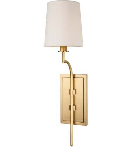 Hudson Valley Lighting Glenford 1 Light Wall Sconce in Aged Brass 3111-AGB photo