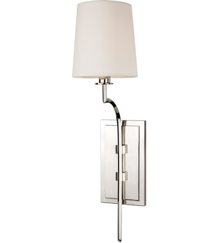 Hudson Valley 3111-PN Glenford 1 Light 6 inch Polished Nickel Wall Sconce Wall Light photo
