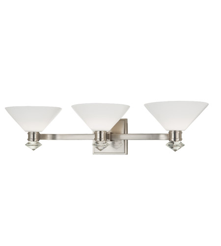 Hudson Valley Lighting Rawlins 3 Light Bath And Vanity in Satin Nickel 3253-SN photo