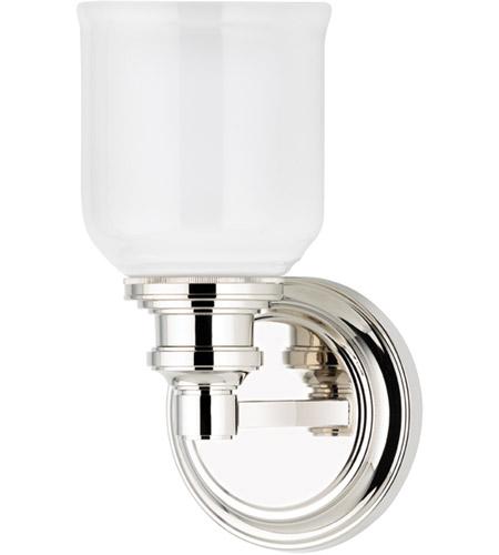 Hudson Valley Bath Vanity Lighting: Hudson Valley 3401-PN Windham 1 Light 5 Inch Polished