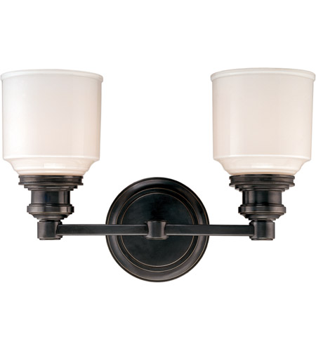 Hudson Valley 3402-OB Windham 2 Light 14 inch Old Bronze Bath And Vanity Wall Light photo