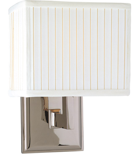 Hudson Valley 351-PN Waverly 1 Light 7 inch Polished Nickel Wall Sconce Wall Light photo