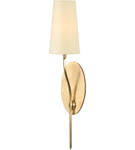 Hudson Valley Lighting Rutland 1 Light Wall Sconce in Aged Brass 3711-AGB photo