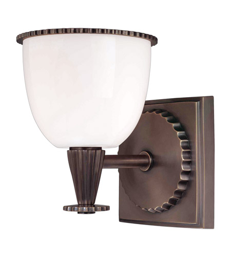Hudson Valley Lighting Guilford 1 Light Bath And Vanity in Distressed Bronze 3881-DB photo