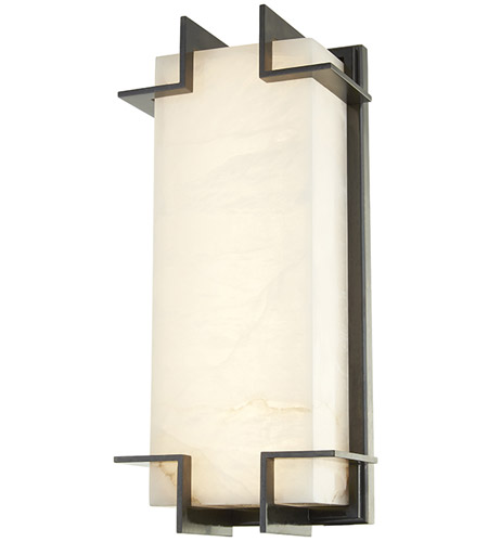 Hudson Valley 3915 Ob Delmar Led 7 Inch Old Bronze Ada Wall Sconce Light