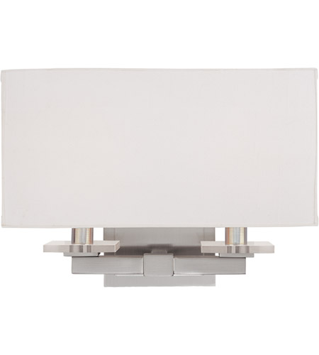 Hudson Valley Lighting Montauk 2 Light Wall Sconce in Satin Nickel 392-SN photo