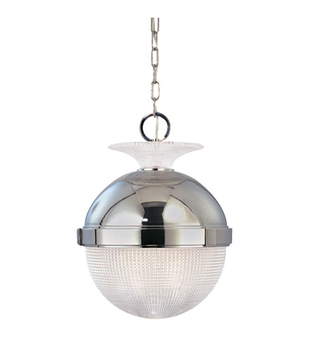 Hudson Valley Lighting Winfield 1 Light Pendant in Polished Nickel 409-PN photo