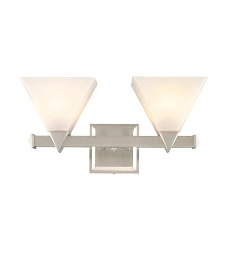 Hudson Valley Lighting Del Rey 2 Light Bath And Vanity In Satin Nickel 4102 Sn