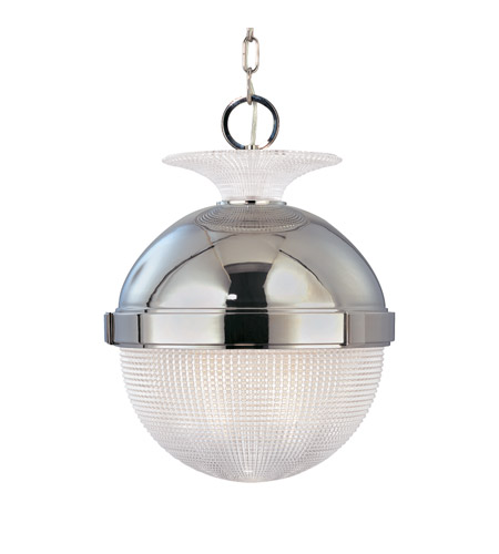 Hudson Valley Lighting Winfield 1 Light Pendant in Polished Nickel 415-PN photo