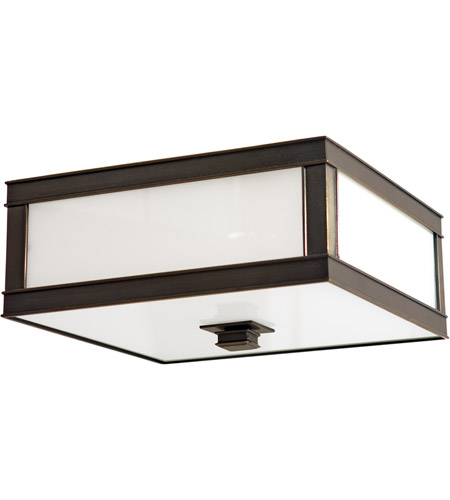 Hudson Valley 4216-OB Preston 3 Light 16 inch Old Bronze Flush Mount Ceiling Light photo