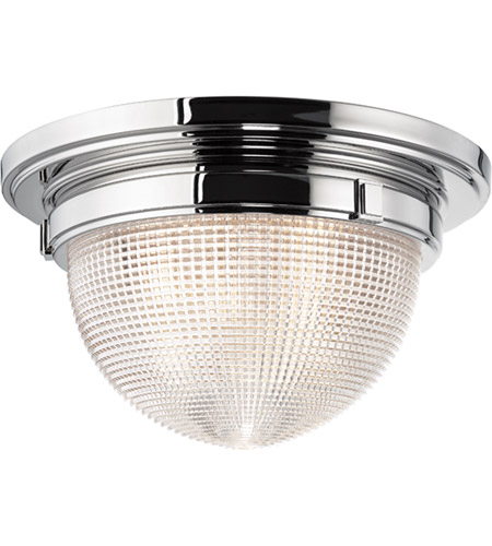 Hudson Valley 4415-PN Winfield 2 Light 15 inch Polished Nickel Flush Mount Ceiling Light photo