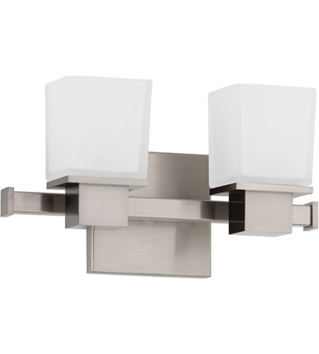 Hudson Valley 4442-SN Milford 2 Light 12 inch Satin Nickel Bath And Vanity Wall Light photo