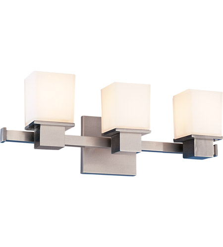 Hudson Valley 4443-SN Milford 3 Light 17 inch Satin Nickel Bath And Vanity Wall Light photo
